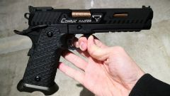 Steel slide and barrel EMG TTI combat master complete GBB pistol